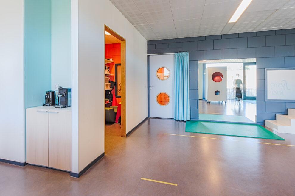 Praktijkruimte voor kinderfysiotherapie Fysiokids Delfgauw