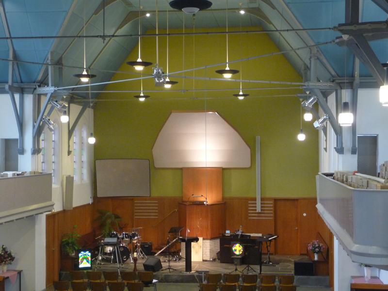 Bestaande situatie liturgisch centrum VEGr